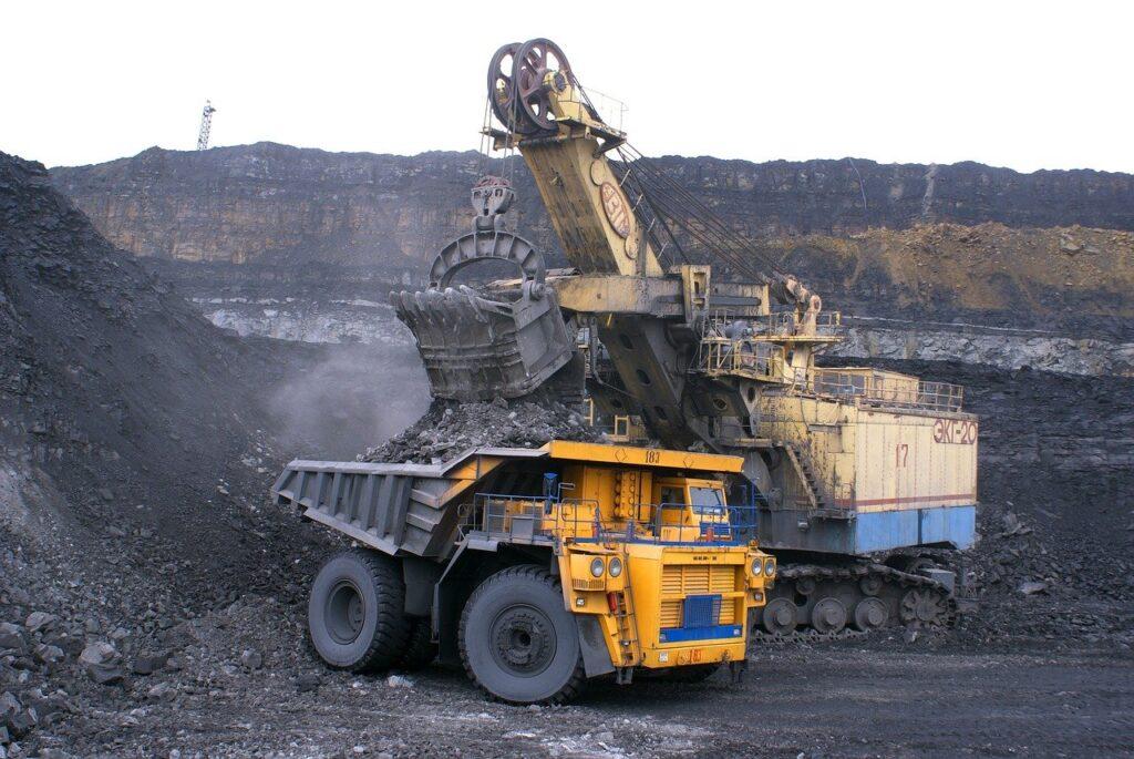 industry, dumper, minerals